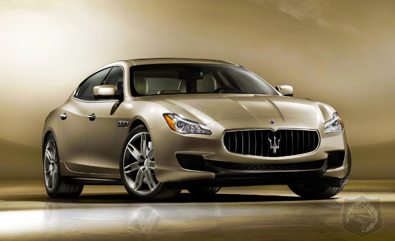 RUMOR: FIRST Details About The All-New Maserati Quattroporte's Powertrain Are Revealed