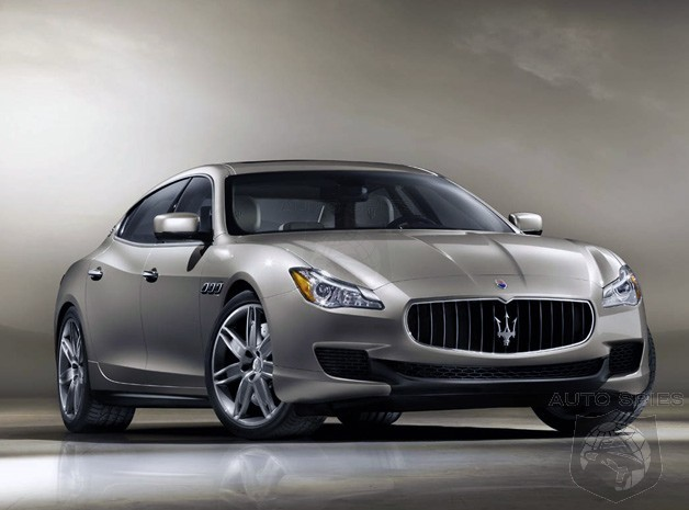 DRIVEN: Maserati's All-New Quattroporte Gets Its FIRST Grade