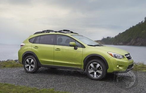 NEW YORK AUTO SHOW: The DETAILS On Subaru's FIRST-Ever Hybrid Drop