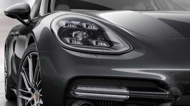MORE Pictures Of The All New 2017 Porsche Panamera Is There ANYTHING You d Do Different