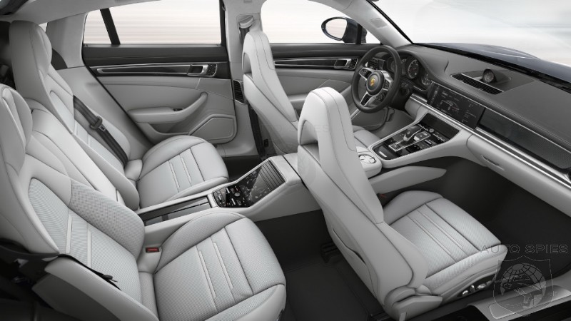 So The 2017 Panamera Is An Improvement On The OUTSIDE But What About Its INTERIOR MANY All New Changes