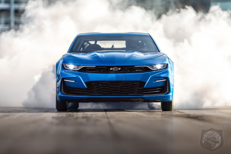 #SEMA: GM's Chevrolet Debuts A 9-Second, eCOPO Camaro Electric-powered Drag Race Car In Vegas