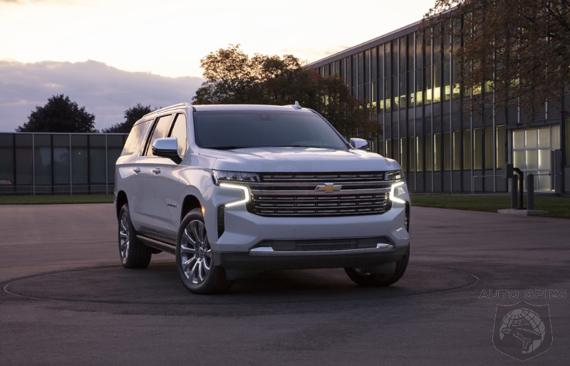 ATTENTION WALMART SHOPPERS Did The New 2021 Tahoe And Suburban Take A WRONG Turn On Their EXPEDITION