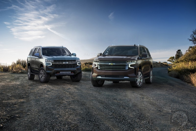 OFFICIAL EVERYTHING You Want To Know About The 2021 Chevrolet Suburban Tahoe