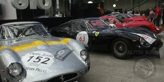 VIDEO: THIS Is What $75 MILLION Of Automobiles Looks Like