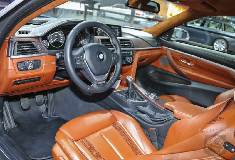 DETROIT AUTO SHOW EXCLUSIVE! First Real-Life Photos Of The All New BMW 4-Series Coupe Concept's INTERIOR!