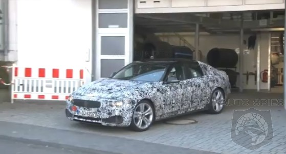 SPIED + VIDEO: FIRST Clip Of The BMW 4-Series Gran Coupe