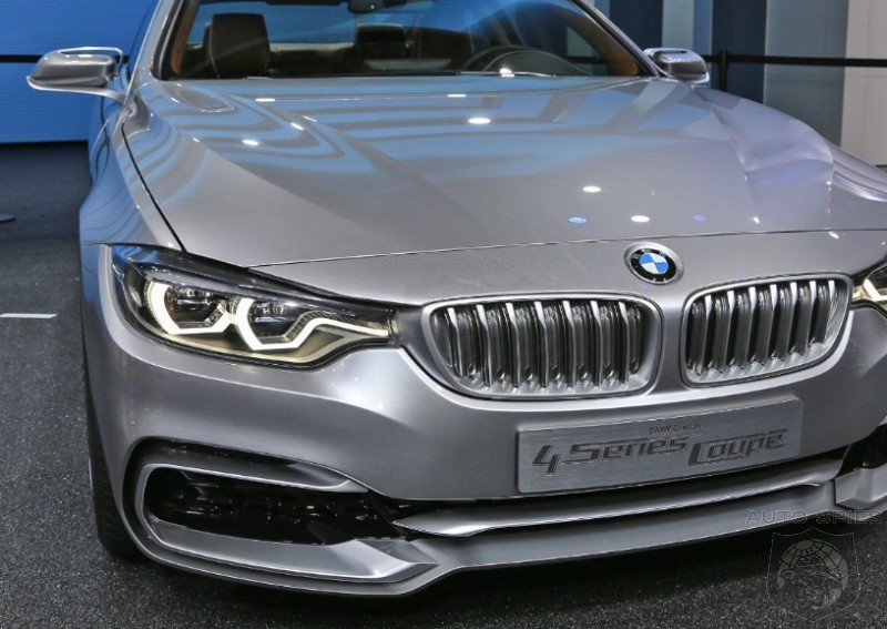 DETROIT AUTO SHOW EXCLUSIVE! First Real-Life Photos Of The All New BMW 4-Series Coupe Concept's EXTERIOR!