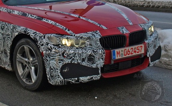 SPIED: After The BMW 4-Series Coupe Concept Debuts, 435i M SPORT AND 428i Camo Starts PEELING OFF