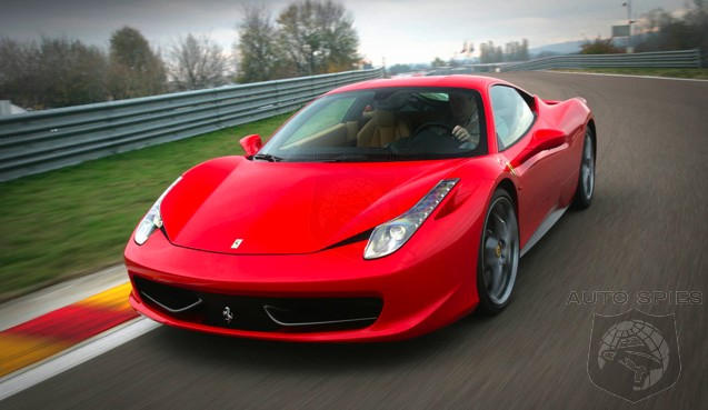 Uh Oh! FIRST Ferrari Axed Manuals, NOW Naturally Aspirated Motors? BIG News For 458 Italia Fans!