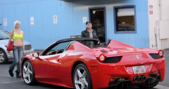 VIDEO: Can A Ferrari 458 Italia Spider Bring Out The Gold