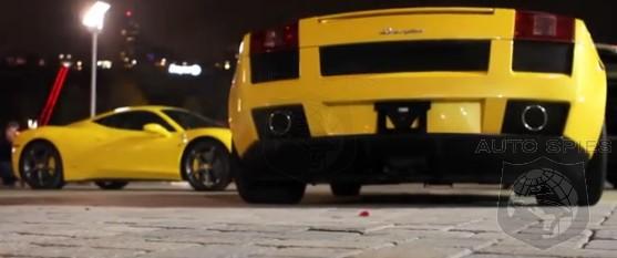 Sound Off Lamborghini S Gallardo Goes Head To Head With The Ferrari