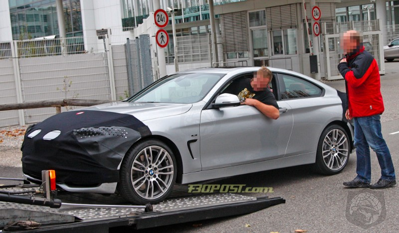 SPIED: The MOST Revealing Shots Of The Upcoming BMW 4-Series Coupe Hit The 'Net - FIRST Impressions?