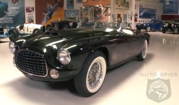 VIDEO: Jay Leno Drives One Incredibly Original 1952 Ferrari Barchetta