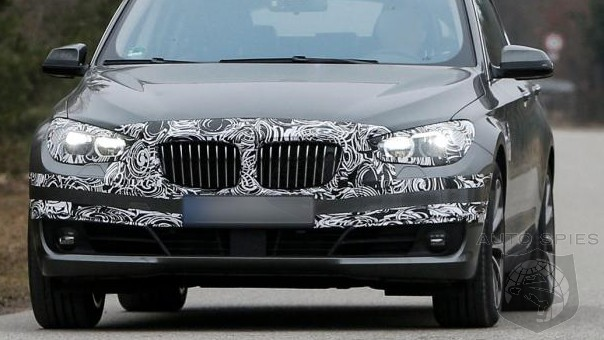 SPIED: BMW's 5-Series GT Set For A Makeover, Still Won't Stop You From Saying