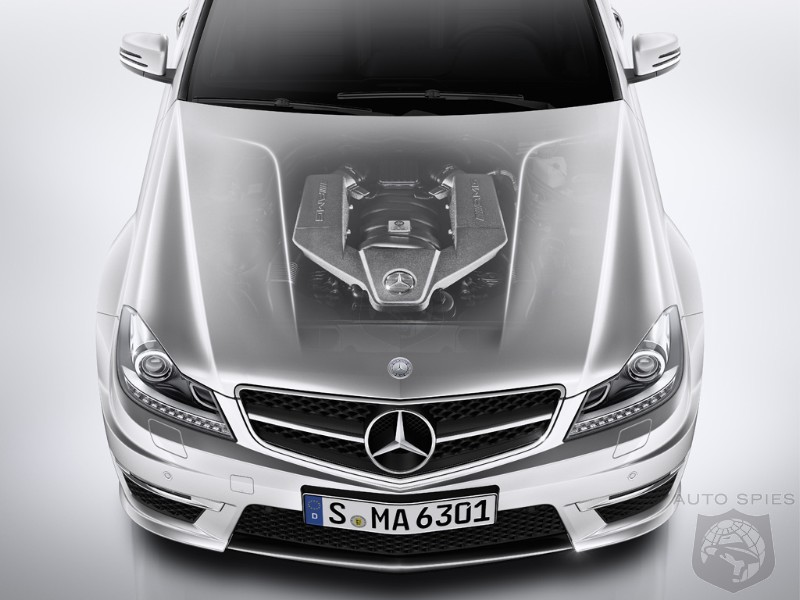 Pictures The 2012 Mercedes Benz C63 Amg Steps Out In