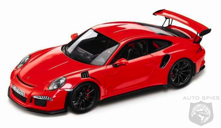 SPIED + RUMOR? Is THIS Scale Model The All-New Porsche 911 GT3 RS?