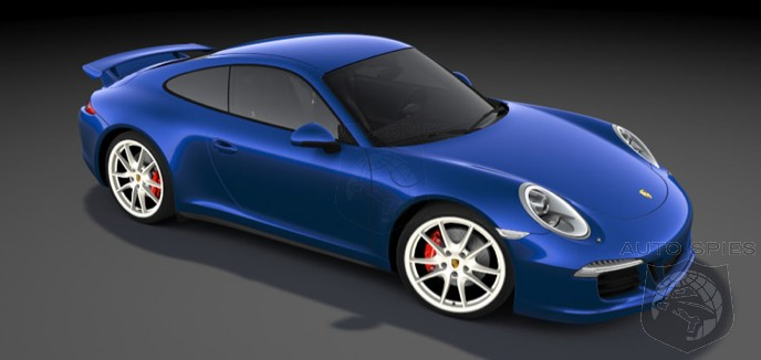 YOU Decide: Porsche Building A SPECIAL 911 Carrera 4S To Celebrate 5M Facebook Fans