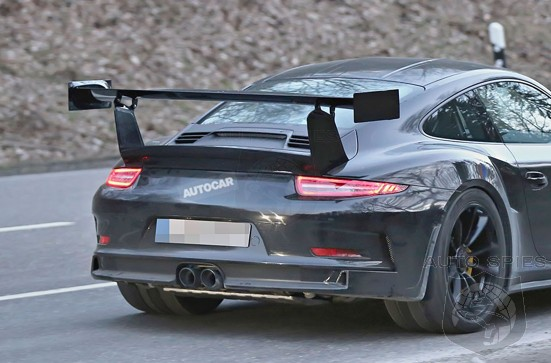 SPIED: FIRST Spy Photos Of The Upcoming Porsche 911 (991) GT3RS EXPOSE What's To Come