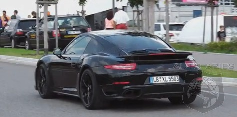 porsches all new 2014 911 turbo s caught