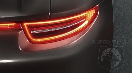 FIRST Photos Of Porsche Carrera 4 & Carrera 4S Rear Lighting In Action!