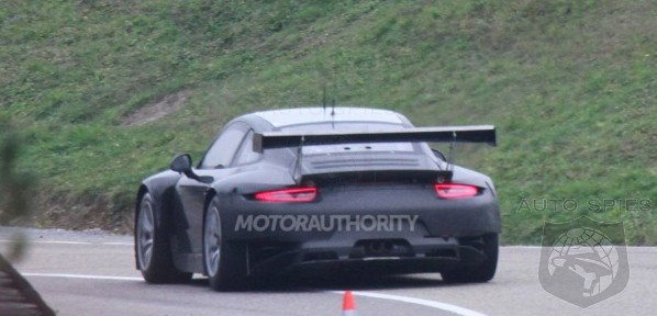 SPIED: Porsche's All-New Racegoing 991 Is Spotted For The FIRST Time
