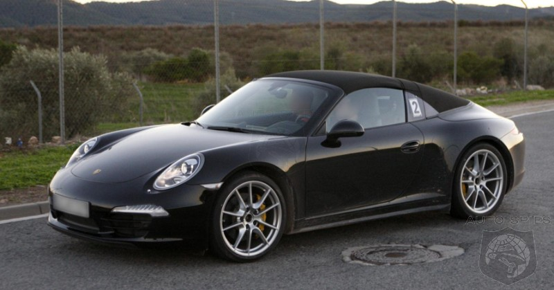 SPIED: NEW Photos Of Porsche's 911 (991) Targa Hit The 'Net
