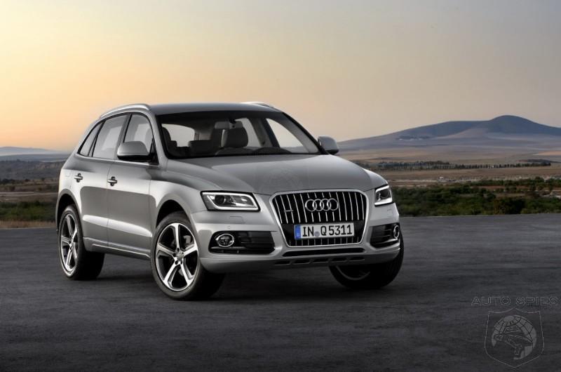 The SPIES Get The FIRST Look At The Updated And REVISED Audi Q5 - Can YOU Spot The Changes?