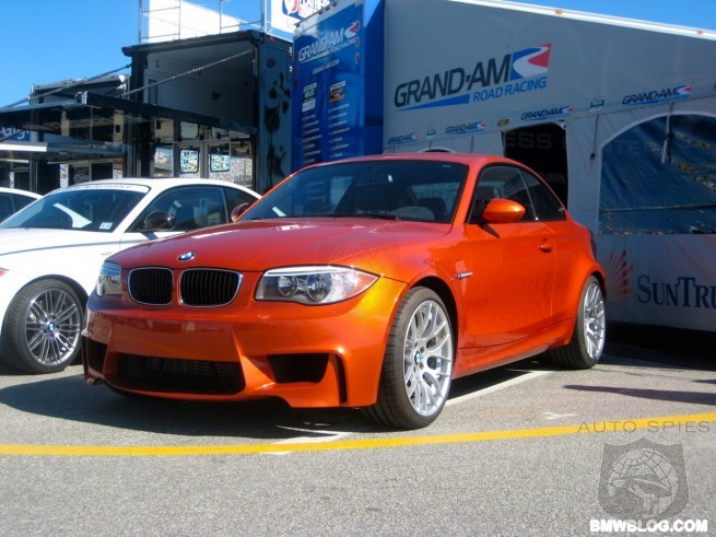 The 2011 BMW 1M Coupe Pace Car At Daytona In Pictures