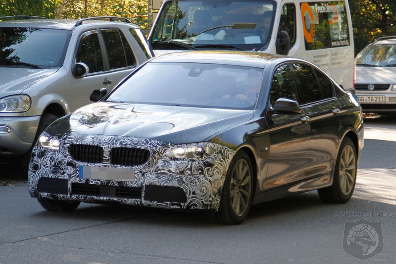 SPIED: BMW's F10 5-Series' Facelift Comes Into Focus