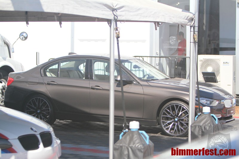 Well, That Didn't Take Too Long - BMW's 2012 328i Spotted Wearing 20s