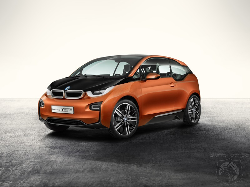 LA AUTO SHOW: BMW Unveils The FULL Details On Its i3 Concept Coupe - Photos Galore!