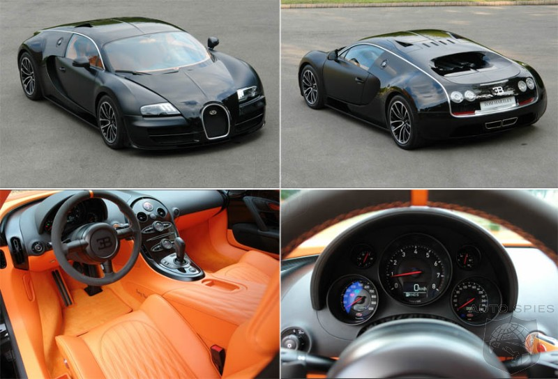 If YOU Had The Coin To Pick Up A Bugatti Veyron, WHICH One Would YOU Spring For?