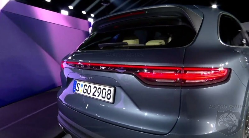 Real Life Pics Of The 2018 Porsche Cayenne Is Its