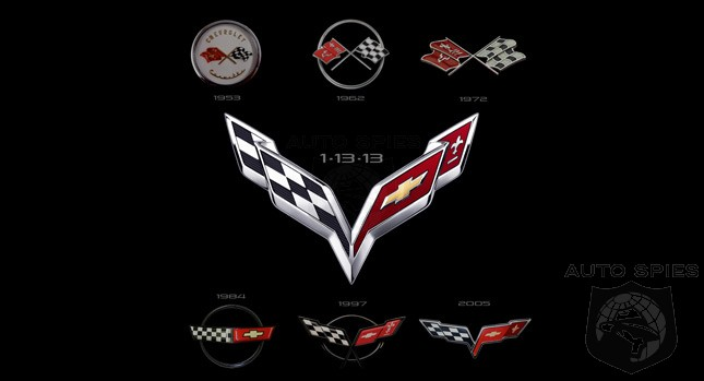 Chevrolet Unveils The Corvette's Crossed Flags Logo - But What Will The Vette NEED To Stomp The Comp?