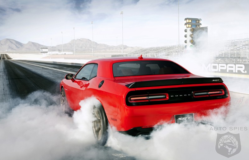 VIDEO: Even MORE Proof That The 2015 Dodge Challenger SRT Is HOT And MORE Detail About The All-New Hellcat V8
