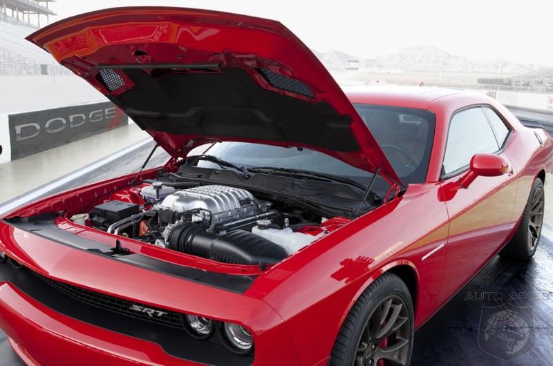 VIDEO: The 2015 Dodge Challenger Hellcat Sounds Like ________