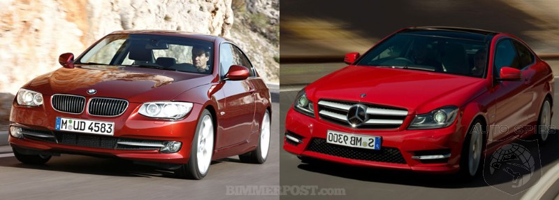 Showdown 2011 Bmw 3 Series Coupe Vs 2012 Mercedes Benz C