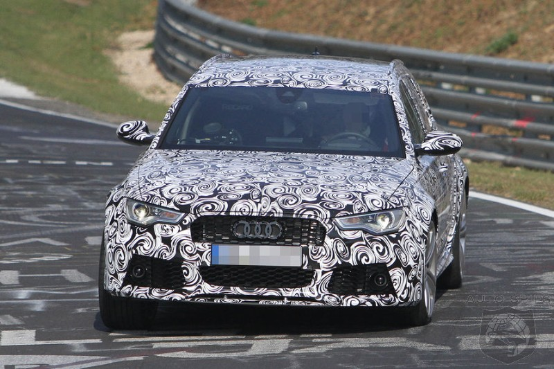 SPIED + VIDEO: Audi's Next-Gen RS6 SPOTTED Getting A Workout