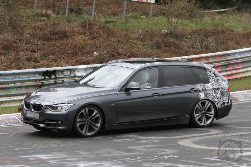 SPIED: BMW's F-Series 3er Gets Snapped Doing Laps