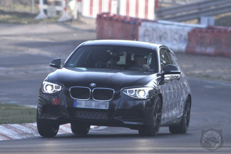 SPIED: The BMW M135i Is Spotted Getting A Work Out On The Track