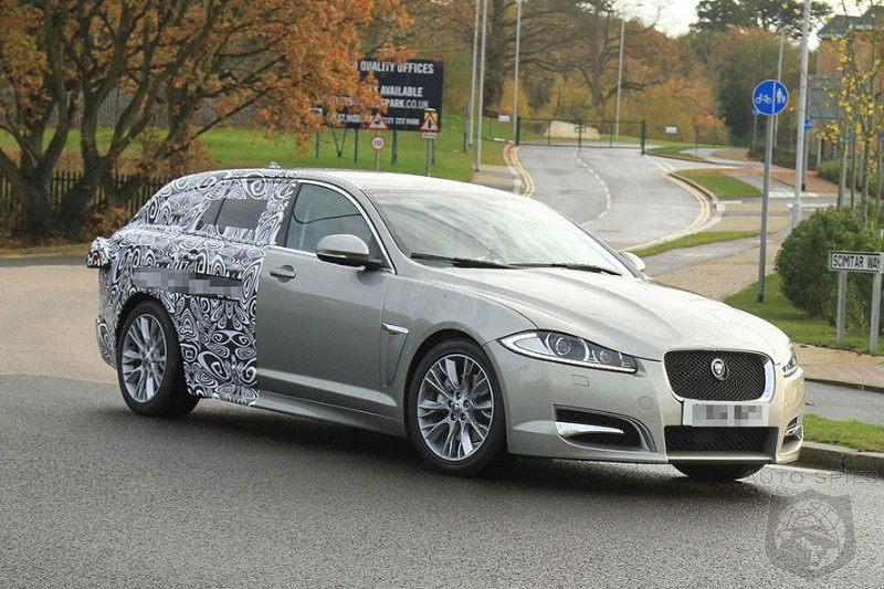 SPIED Jaguars XF Is Getting An EXTRA Long Back Shooting Brake