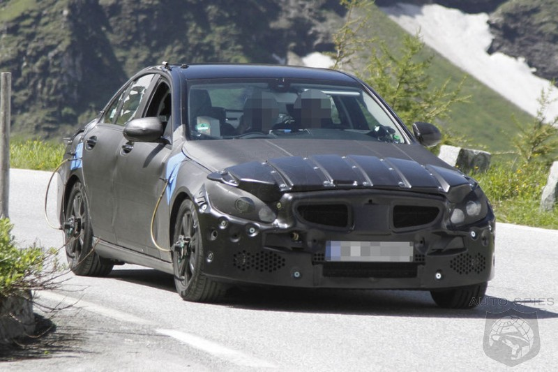 SPIED: NEW Pictures Of The Next-Gen Mercedes-Benz C-Class Hit The 'Net