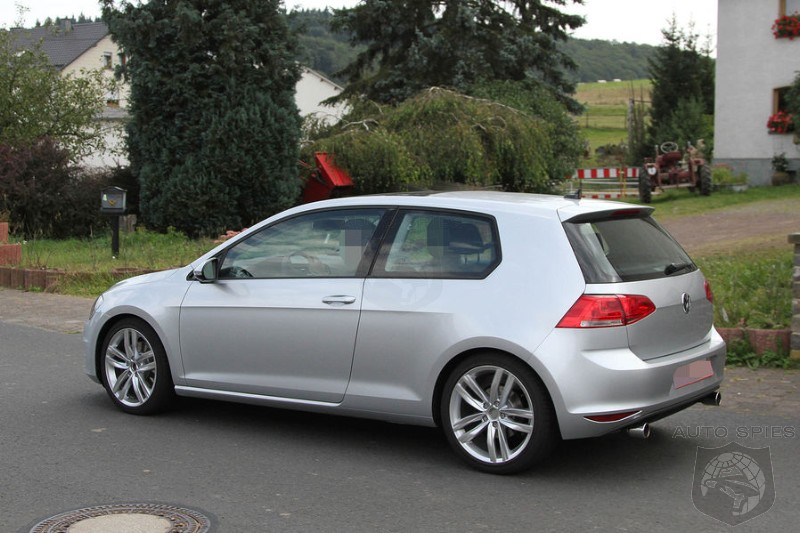 SPIED: NEW Photos Of The All-New Volkswagen Golf GTI And Golf R Make Their Way Online