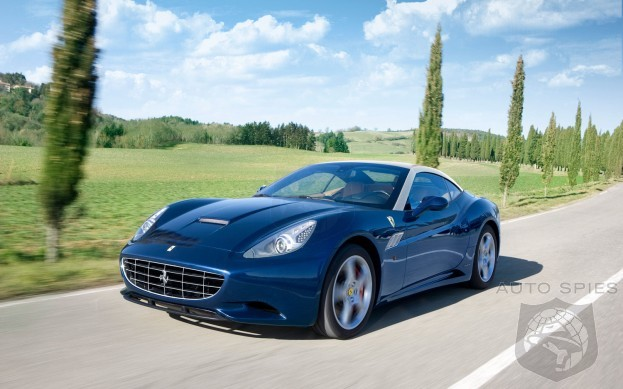Ferrari's California To Get Lighter, More Powerful And FASTER