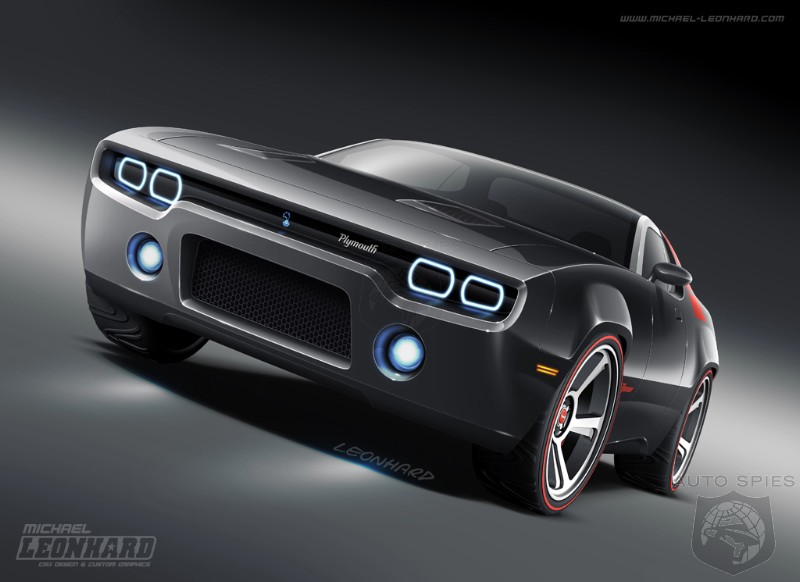 Bringing Back The Dead: Plymouth Road Runner Concept