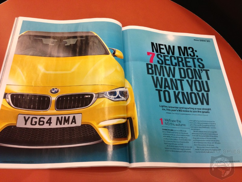 RENDERED SPECULATION: Will BMW's Next-Gen M3 Make Its FIRST Appearance At The 2013 Geneva Motor Show?