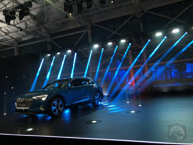 LIVE From The Bay Area, The Agents Bring YOU The BEST Shots From The Launch Of The Audi e-tron SUV