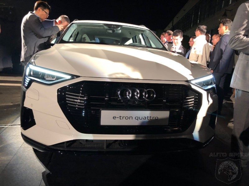 MORE Pics From The Launch Of The Audi e tron SUV MORE Details FIRST Look At Interior