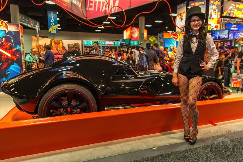 EXCLUSIVE! Agents Get Their Darth Vader On With FIRST And BEST Photos Of The Hot Wheels Car From ComicCon 2014!